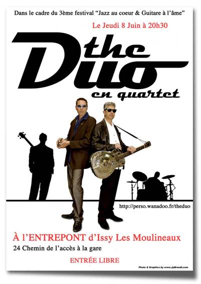 """Jazz au coeur"" Issy juin 2006 C.Langlois et vleb TheDuo"